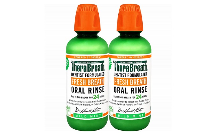 Fresh Breath Oral Rinse Mild Mint by TheraBreath Review