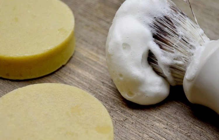 benefits of shaving soap
