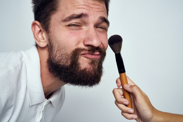 Why is it ok for men to wear makeup?
